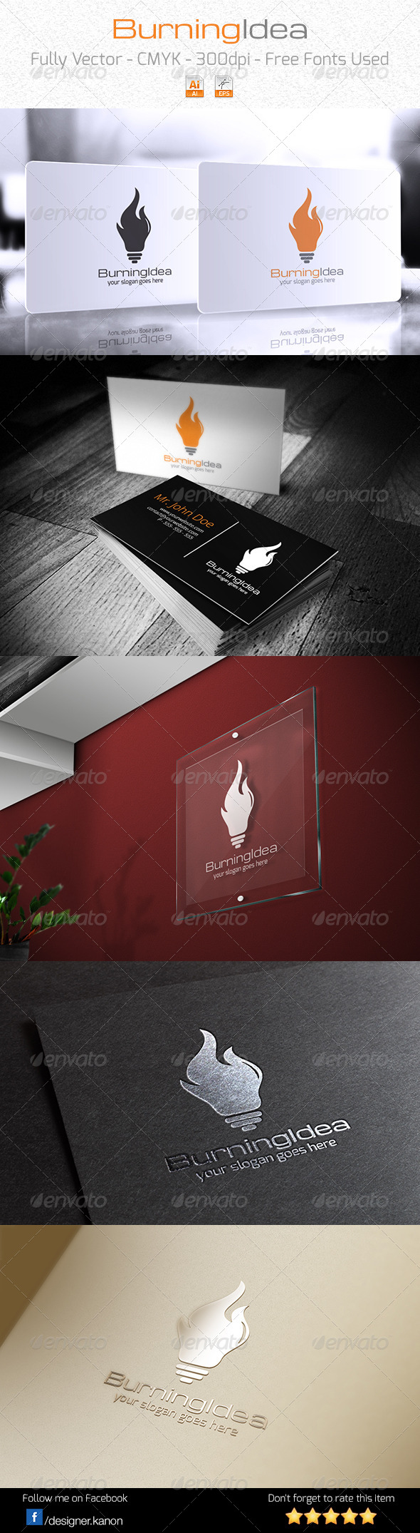 GraphicRiver Burning Idea Logo 6081260