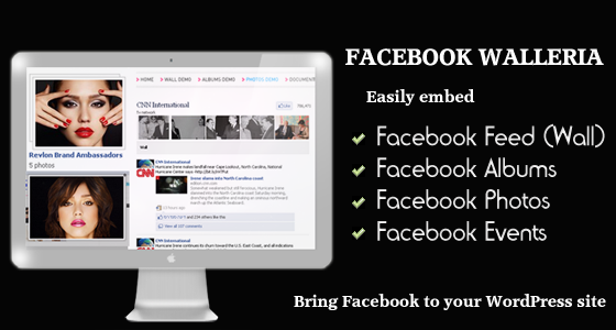 CodeCanyon Facebook Walleria Wordpress Plugin 634775