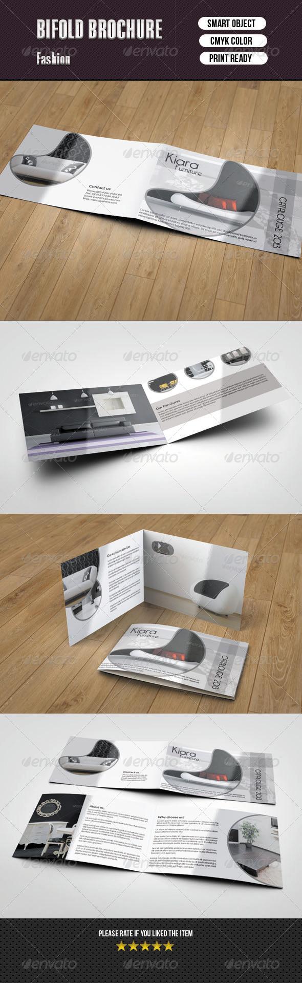 GraphicRiver Bifold Catalog for Interior Design 6081846