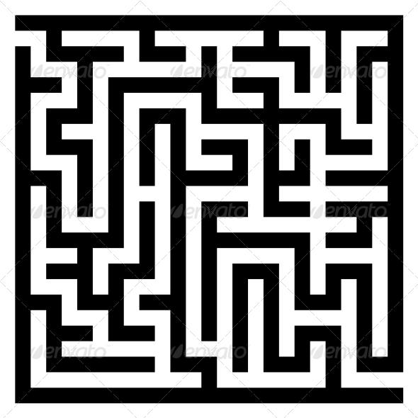 GraphicRiver Maze Labyrinth 6082333