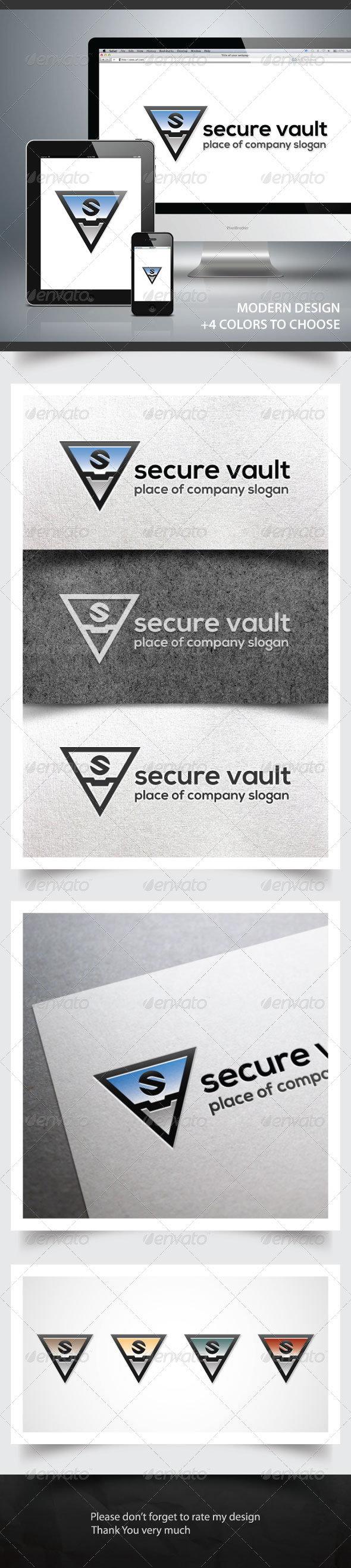 GraphicRiver Secure Vault 6082537