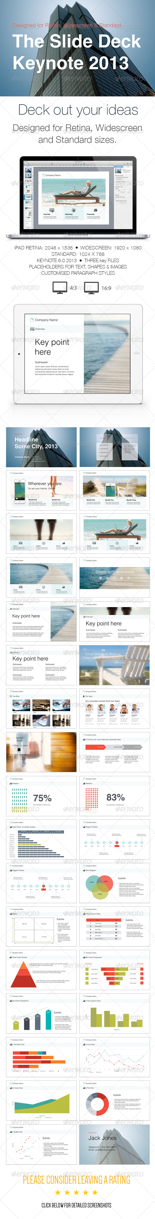 GraphicRiver The Slide Deck- A Keynote Template 6082804