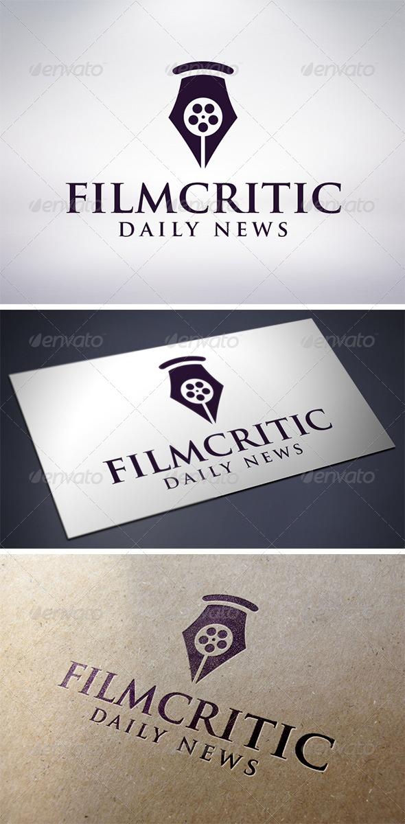 GraphicRiver Film Critic Logo Template 6082807
