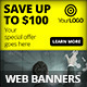 Multipurpose Business Campaign Web Banners - GraphicRiver Item for Sale