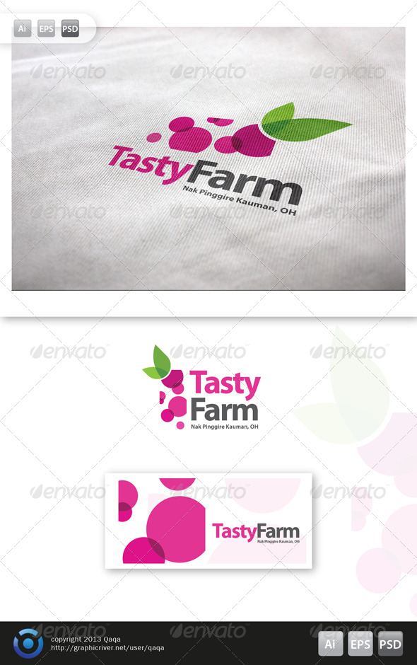 GraphicRiver Tasty Farm Logo 6083279
