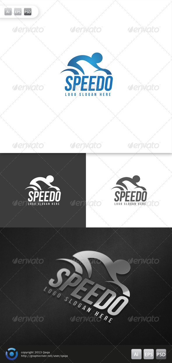GraphicRiver Speed Bike Logo 6083300