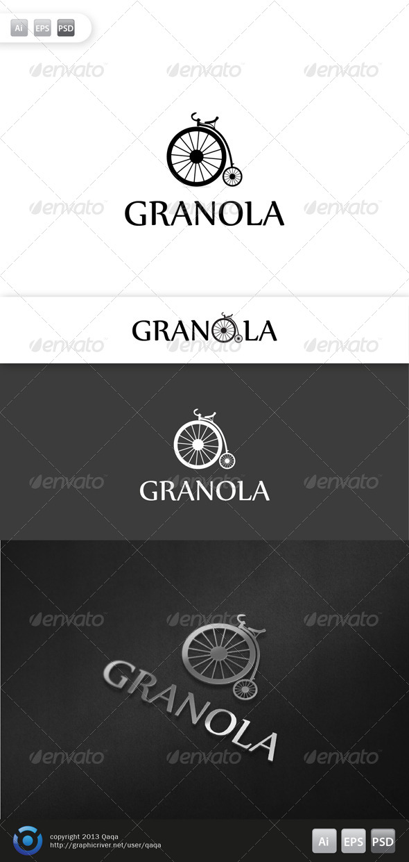 GraphicRiver Old Bike Logo 6083344