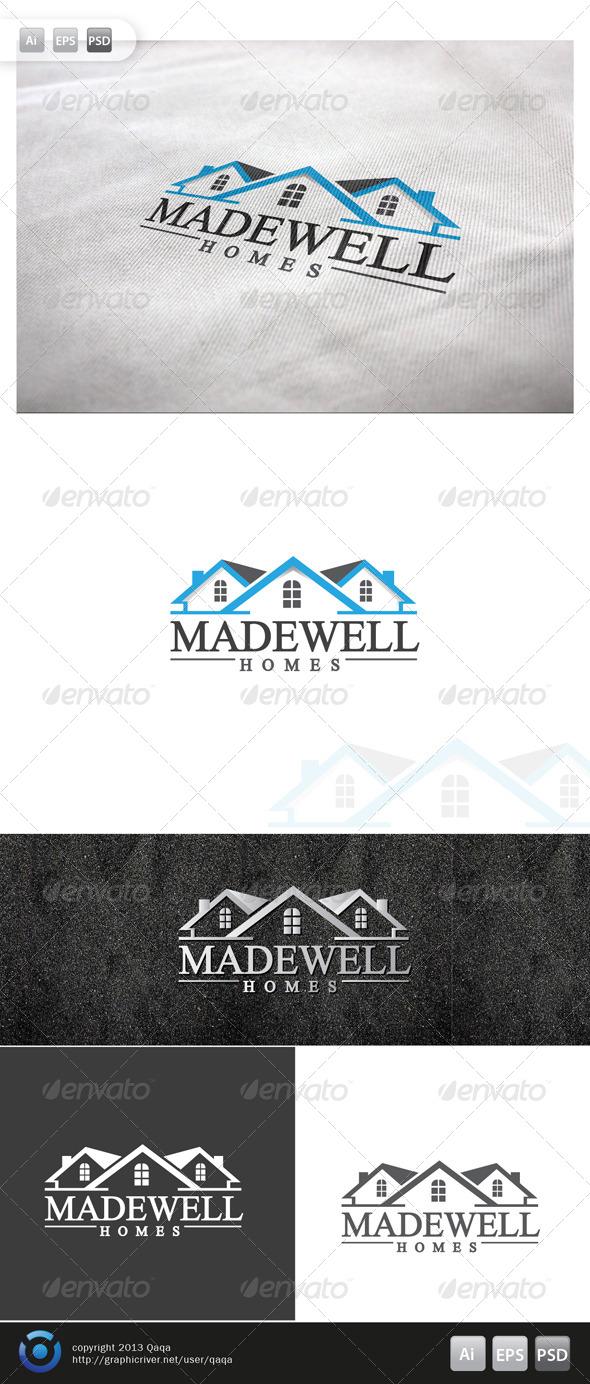 GraphicRiver House Logo 02 6083390