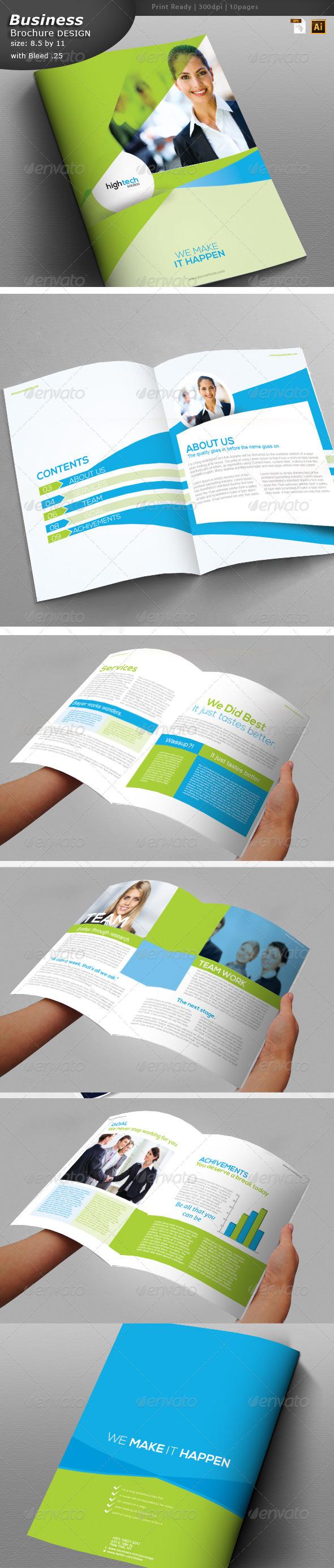 GraphicRiver Business Brochure Design 6083473