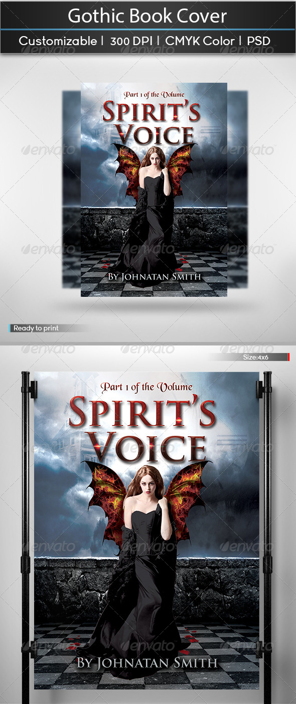 GraphicRiver Gothic Book Cover 5905713