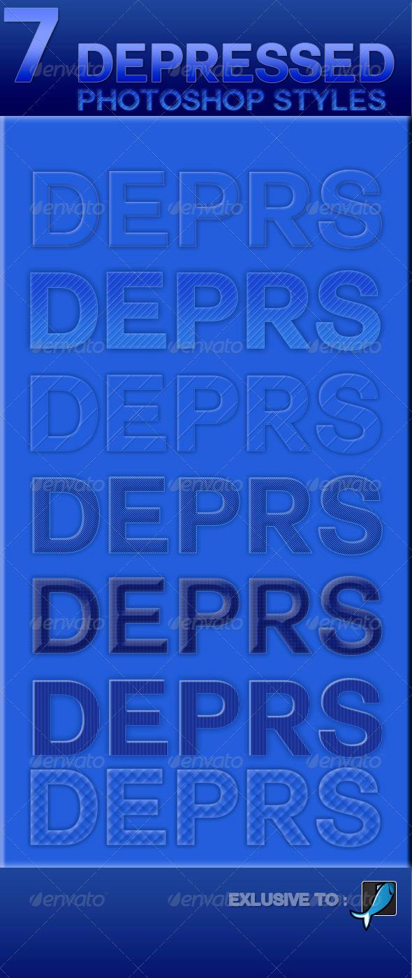 GraphicRiver 7 Depressed Styles 6083676