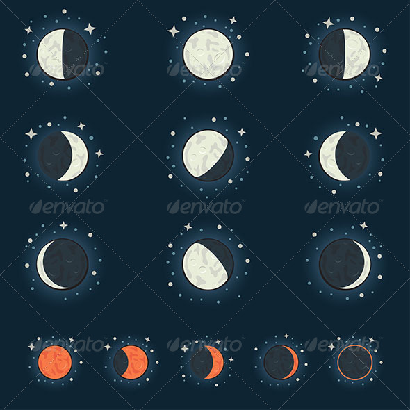 GraphicRiver Moon Phase 6083727
