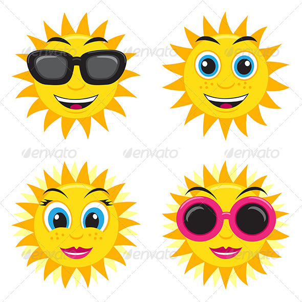 GraphicRiver Sun Illustration 6083842