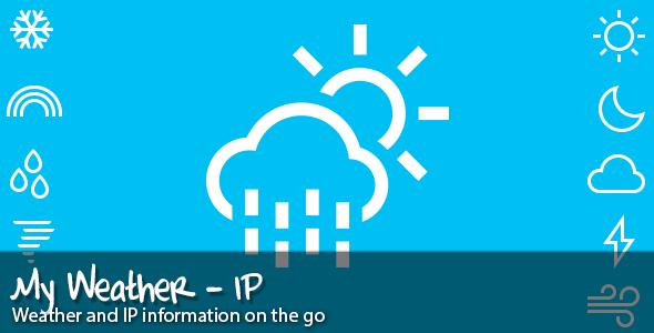 CodeCanyon My Weather IP 6083980