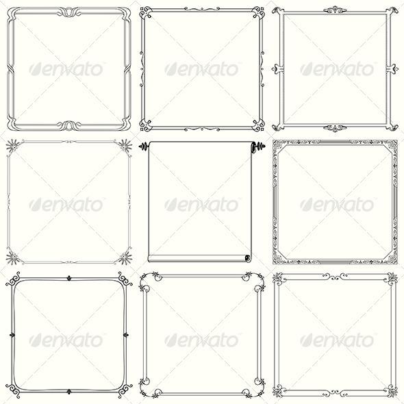 GraphicRiver Decorative Frames 6084193