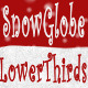 SnowGlobe Lower Thirds - VideoHive Item for Sale