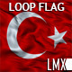 Turkey Loop Flag - VideoHive Item for Sale