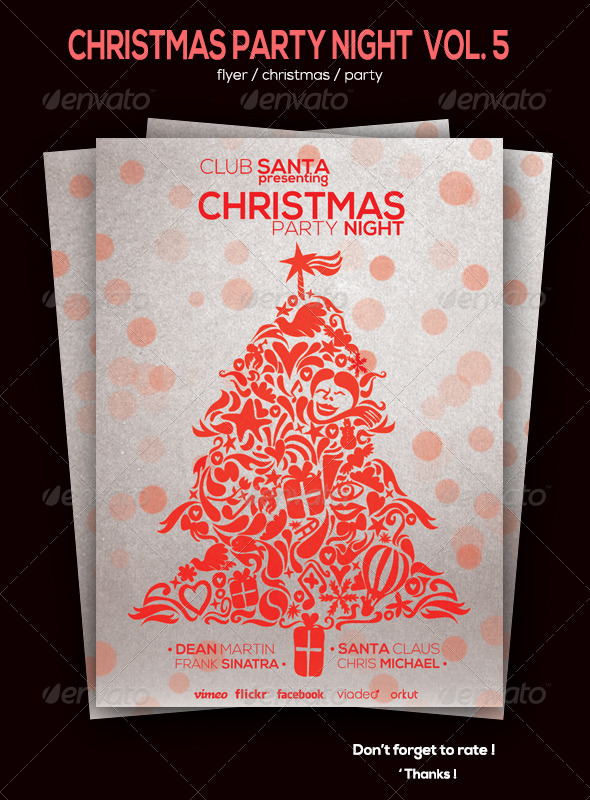 GraphicRiver Christmas Flyer Volum 5 6087216