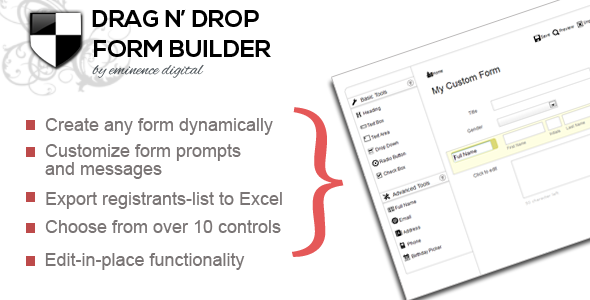 CodeCanyon Drag N Drop Form-builder 5988862