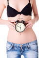 Clock on belly - PhotoDune Item for Sale