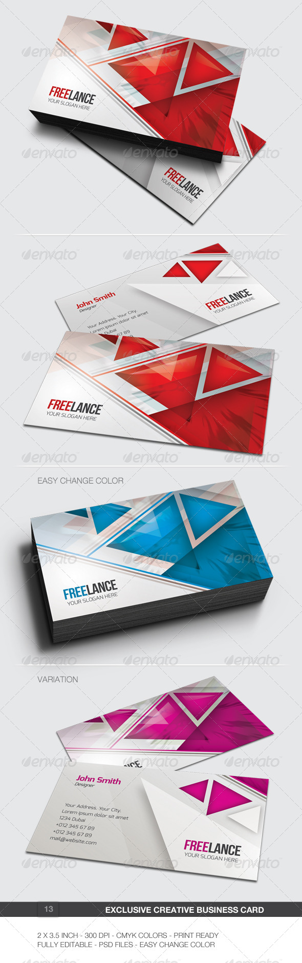 GraphicRiver Exclusive Creative Business Card 13 6087944