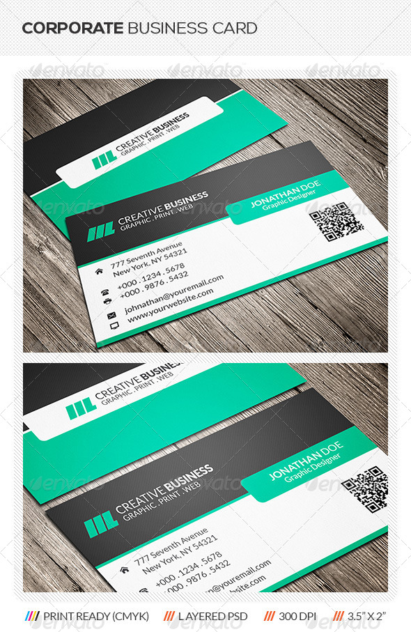 GraphicRiver Corporate Business Card 6088579