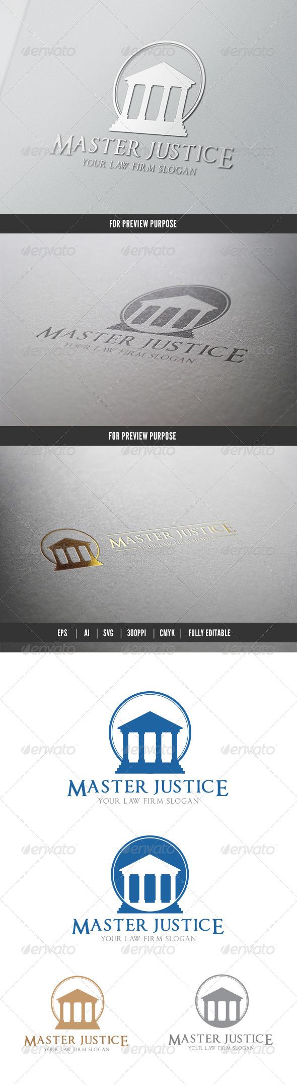 GraphicRiver Master Justice 6088587