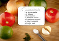 Guacamole Recipe With Ingredients - PhotoDune Item for Sale