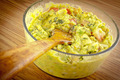 Wooden Spoon In Guacamole - PhotoDune Item for Sale