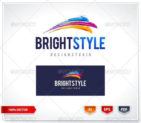 GraphicRiver Bright Style Logo Template 6088848