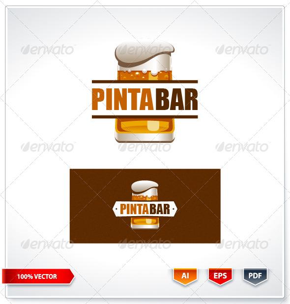 GraphicRiver Pinta Bar Logo Template 6088918