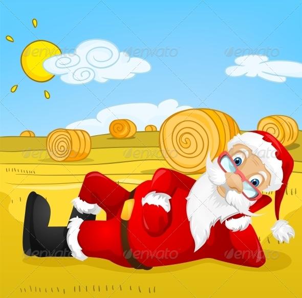 GraphicRiver Santa Claus 6088930