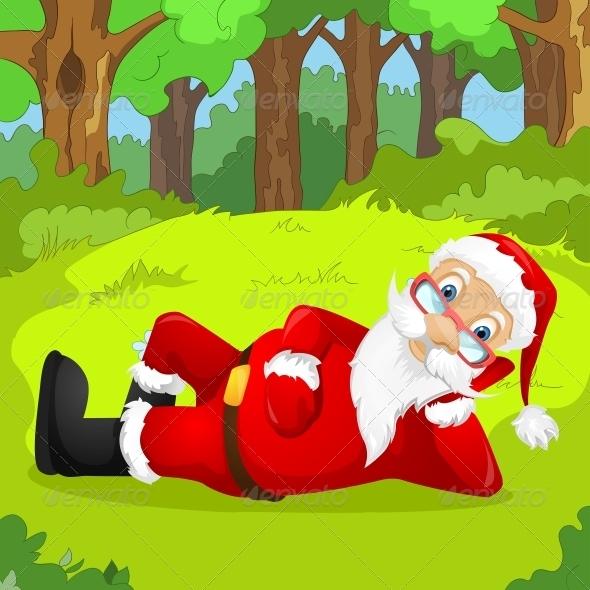 GraphicRiver Santa Claus 6088937