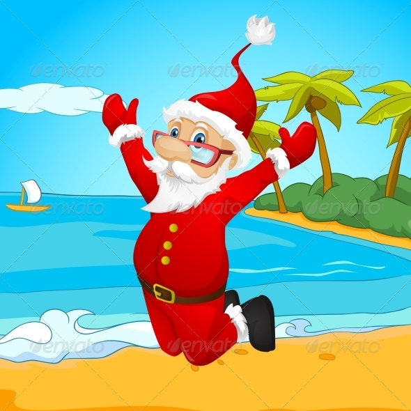 GraphicRiver Santa Claus 6088949