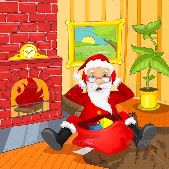GraphicRiver Santa Claus 6088956