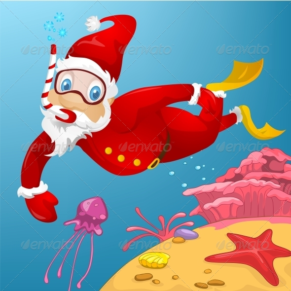 GraphicRiver Santa Claus 6088961