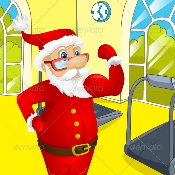GraphicRiver Santa Claus 6088967