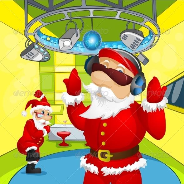 GraphicRiver Santa Claus 6088968