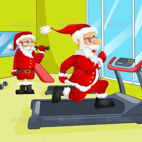 GraphicRiver Santa Claus 6088990