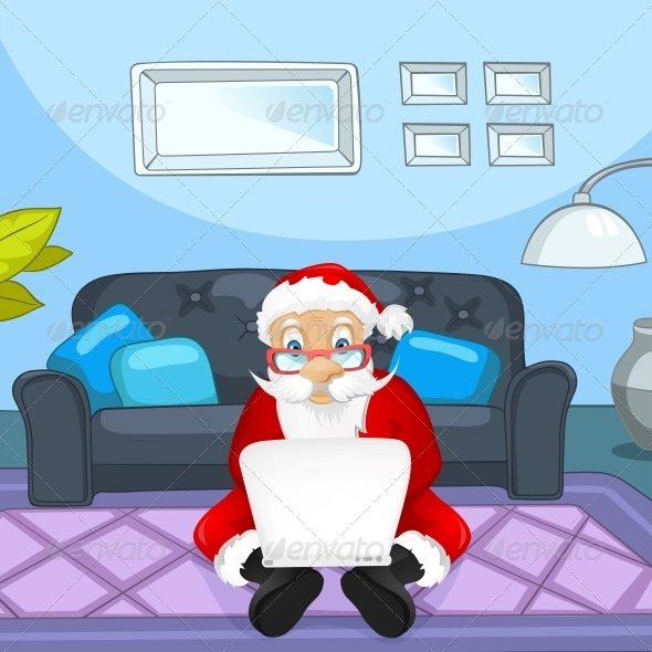 GraphicRiver Santa Claus 6089041