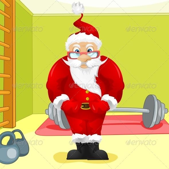 GraphicRiver Santa Claus 6089052
