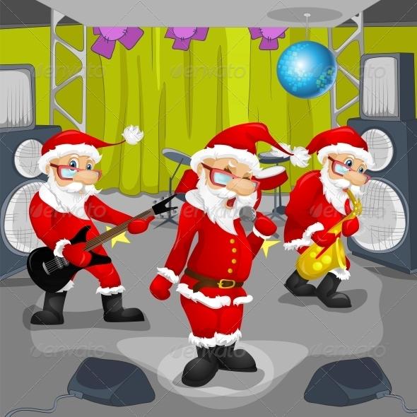 GraphicRiver Santa Claus 6089055