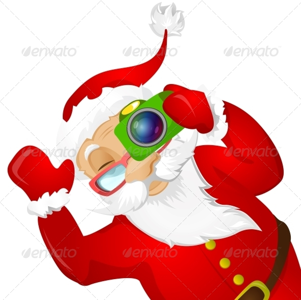 GraphicRiver Santa Claus 6089056