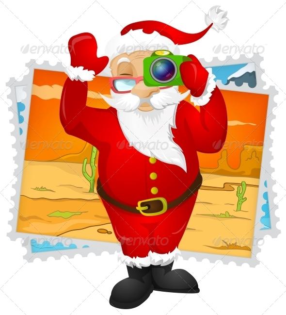 GraphicRiver Santa Claus 6089059