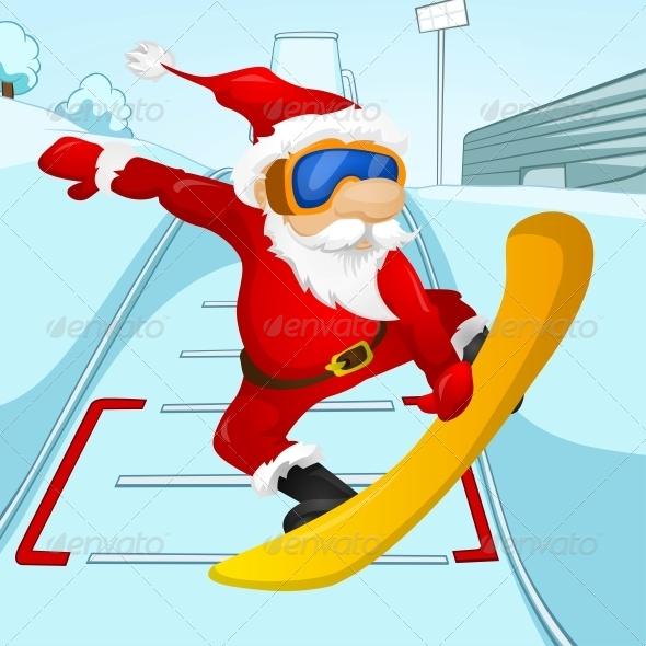 GraphicRiver Santa Claus 6089067