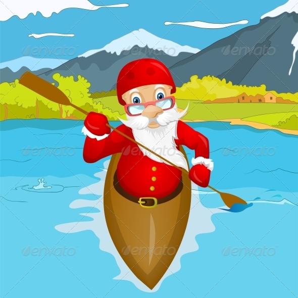 GraphicRiver Santa Claus 6089090