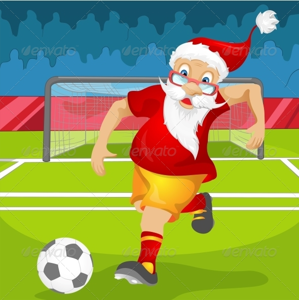 GraphicRiver Santa Claus 6089091