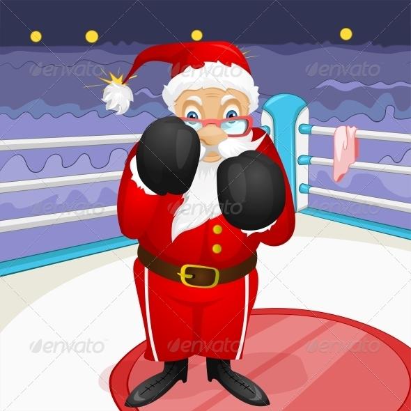 GraphicRiver Santa Claus 6089218
