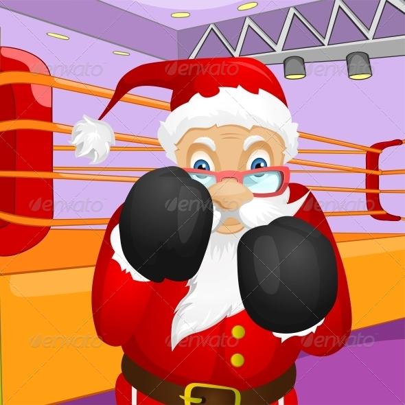 GraphicRiver Santa Claus 6089237