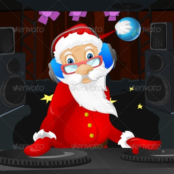 GraphicRiver Santa Claus 6089312